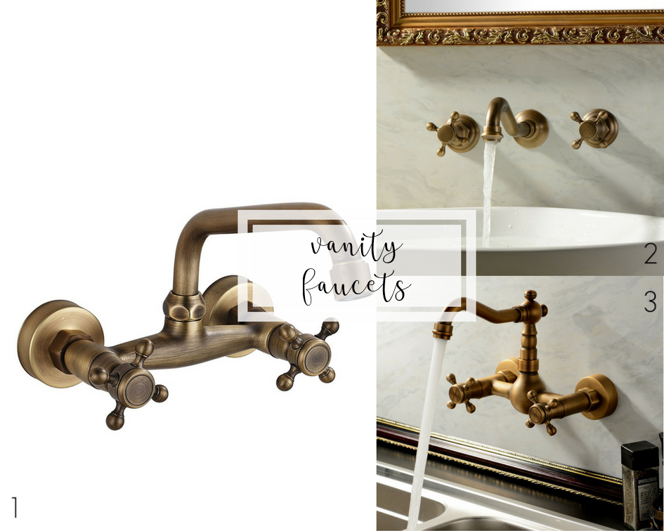 guest bathroom renovation plans | vanity faucets