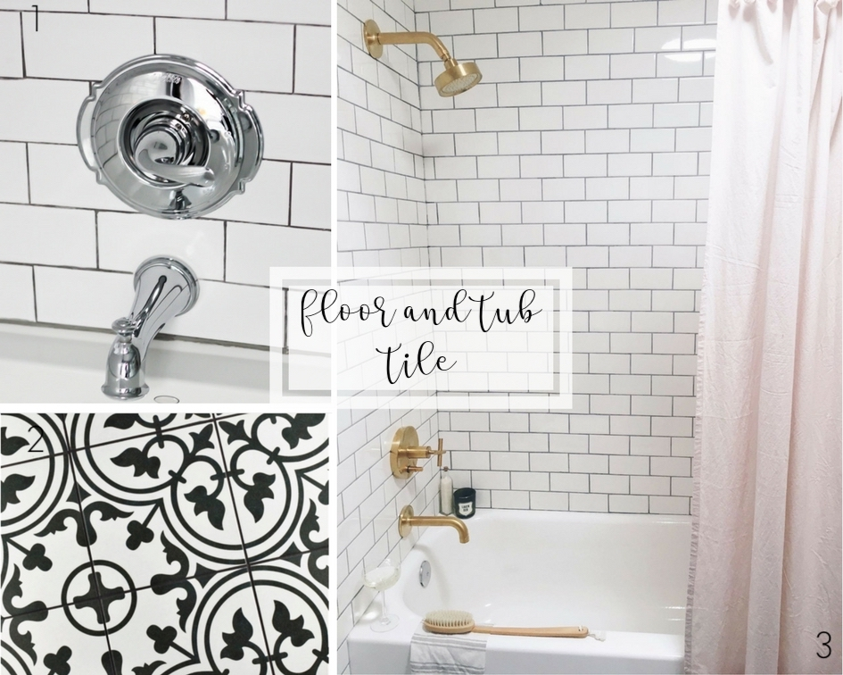 guest bathroom renovation plans | modern farmhouse tile | subway tile