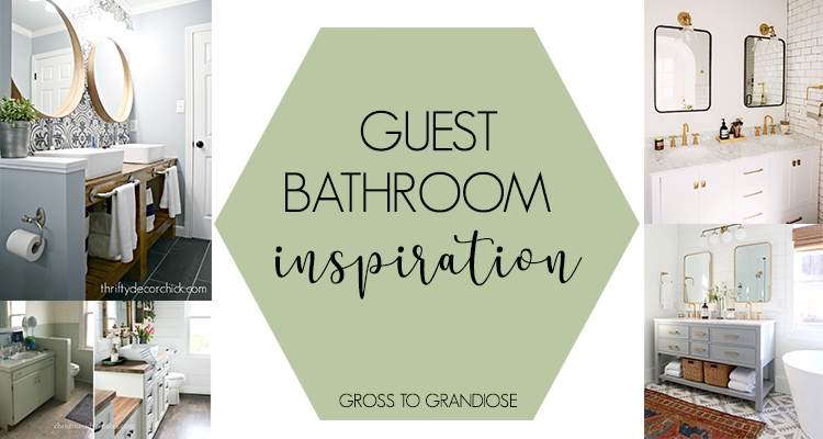 Sharing what the Sunshine Shanty is looking for in a bathroom renovation