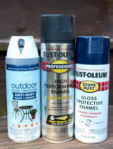 Easy projects and updates with spray paint