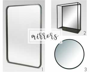Remodel of our guest bathroom - Mirrors
