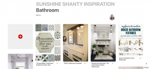 pinterest bathrooms via Living Letter Home