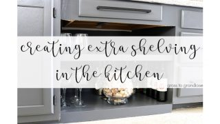 Creating Extra Storage In The Kitchen