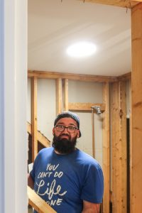 Week 2 of our One Room Challenge in remodeling our guest bathroom!