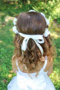 little girl flower crown