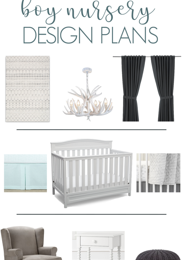 Neutral Boy Nursery Design Plans