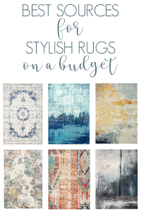 Best sources for stylish rugs on a budget #cheaprugs #rugs #stylishrugs #budget #budgetrugs
