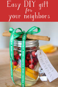 If you're looking for an inexpensive gift to give your neighbors this season, look no further than this easy DIY Christmas potpourri #DIYchristmasgifts #christmasgiftideas #neighborchristmasgift