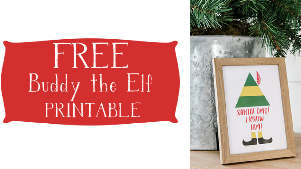 picture relating to Free Elf Printable called I Comprehend HIM! Elf Printable - Dwelling Letter Property