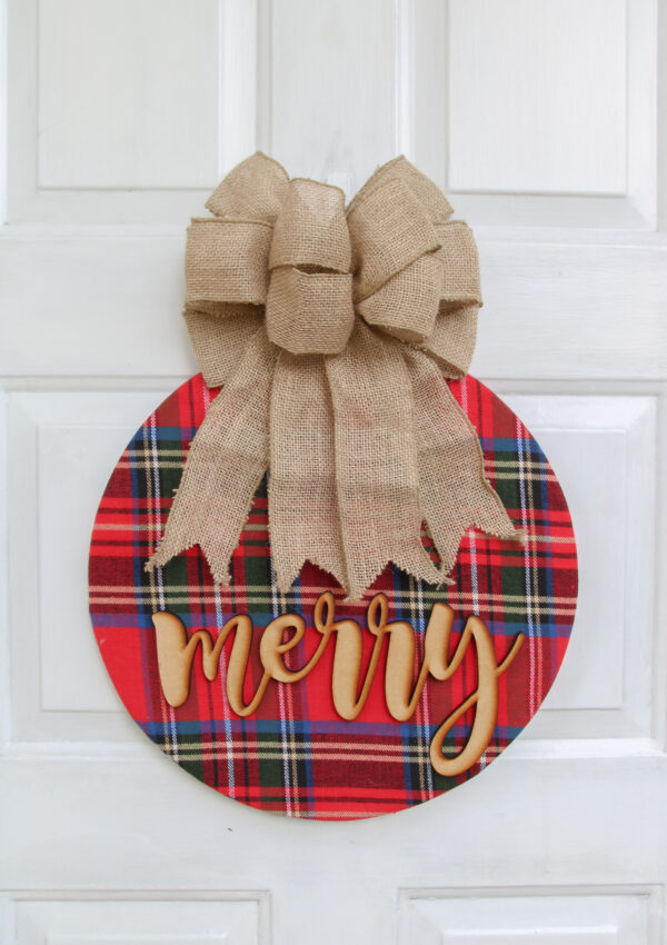 Simple Cozy Christmas Wreath