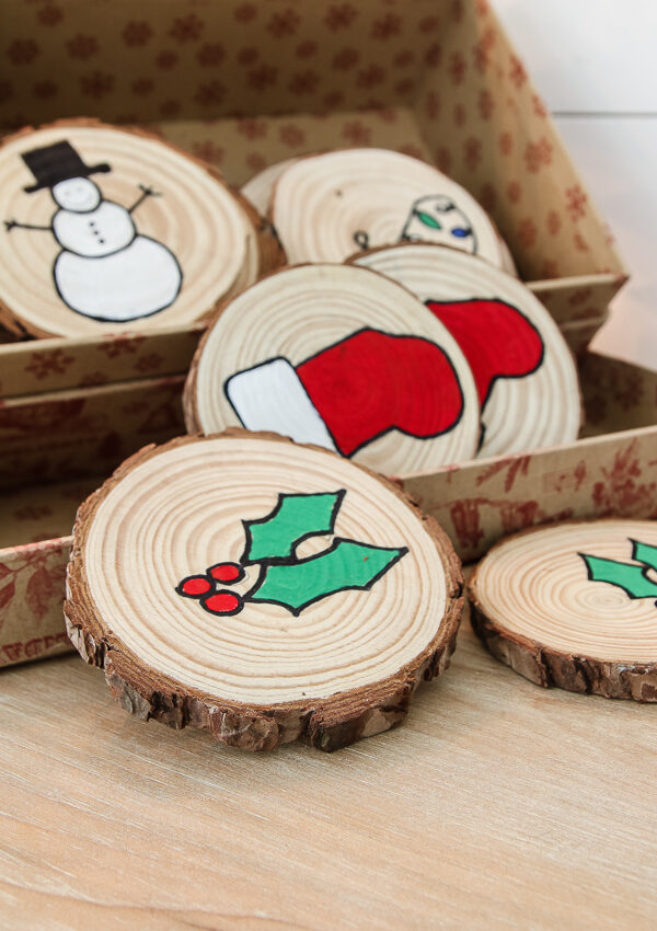 DIY Kid's Christmas Matching Game