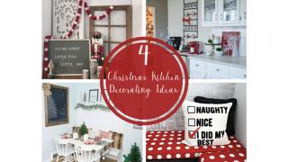 4 Christmas Kitchen Decorating Ideas