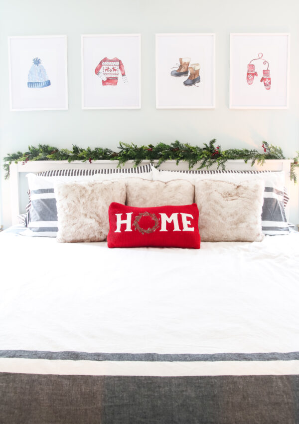 Master Bedroom Christmas Decor Tour