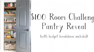 $100 Room Challenge - Pantry Reveal