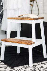 Ikea Bekvam step stool hack