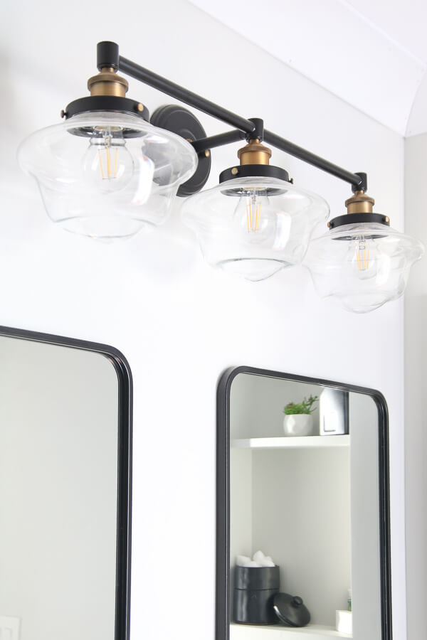 modern industrial farmhouse vanity light fixture
