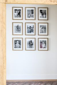 5 easy steps for a photo gallery wall