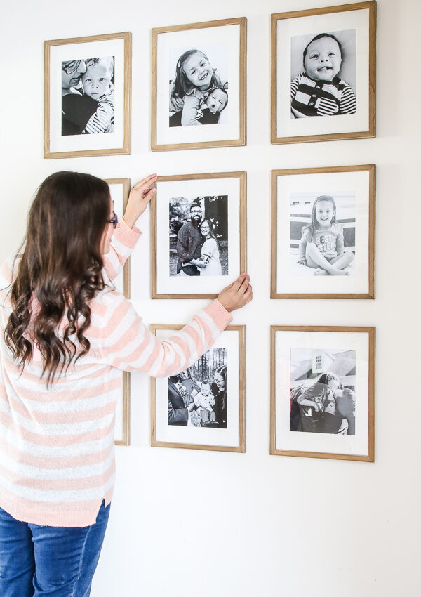 5 Easy Steps to A Photo Gallery Wall