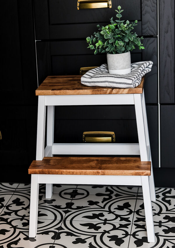 Easy Ikea Step Stool Hack