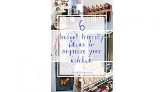 6 Ideas For An Organized Kitchen