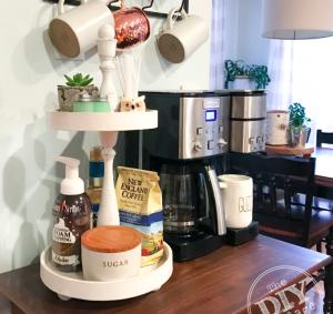 Coffee Bar Styled Tray