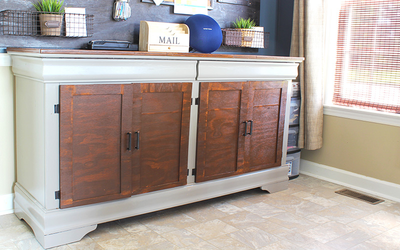 Buffet Table From Dresser | KenyaRae.com