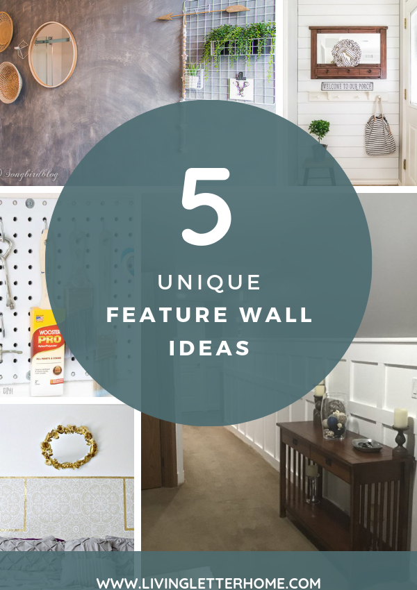 5 Unique Feature Walls