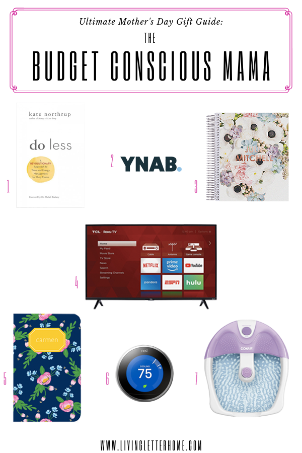 Budget friendly gifts for Mother's Day