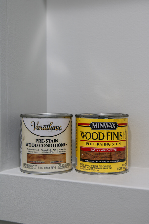 minwax stain and verathane wood conditioner