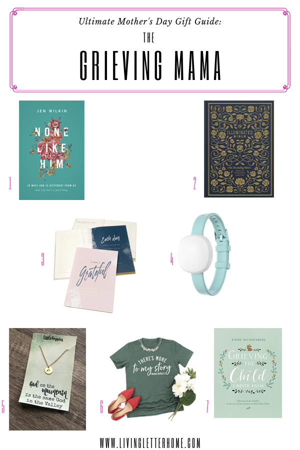 Infertility Mother's Day gift ideas   Grieving mother Mother's Day gift ideas