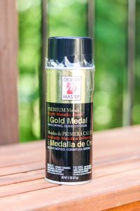 gold medal spray paint