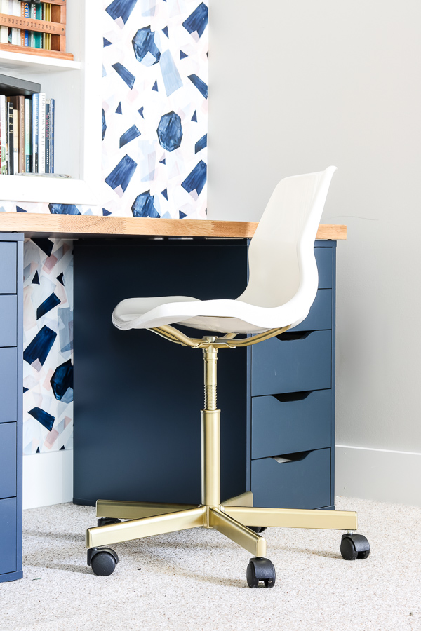 Brilliant Easiest Ikea Chair Hack Ever Living Letter Home Bralicious Painted Fabric Chair Ideas Braliciousco
