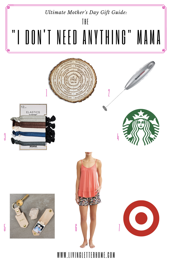 """Don't let her say """"she doesn't need anything."""" 101+ gift ideas for Mother's Day even for the mama who is hard to buy for #mothersdaygifts #mothersday #mothersdaygiftideas"""