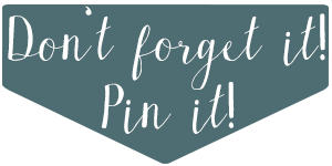 Dont forget it, pin it!