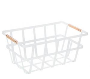farmhouse pantry baskets for pantry organization