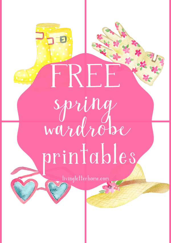 Free Spring Watercolor Printables