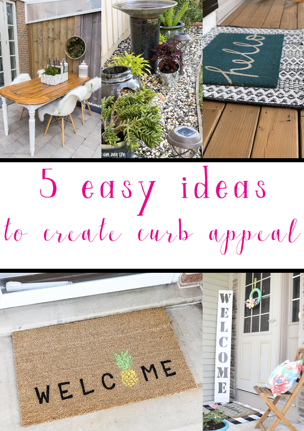 5 Easy Curb Appeal Ideas
