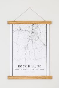 rock hill map