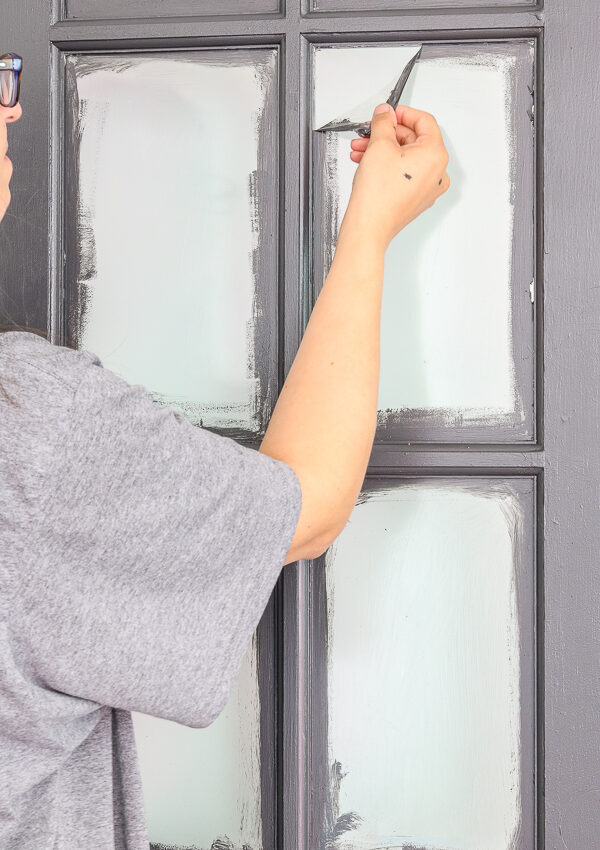 The Easiest Way To Perfectly Painted French Doors