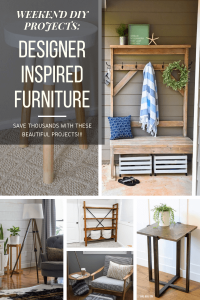 Love designer furniture without the cost? These BRILLIANT DIY furniture ideas can help you save time AND money!! You have to see these! | DIY furniture | DIY furniture cheap