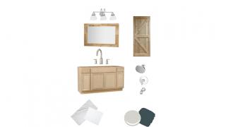 Bathroom Refresh Design Plans