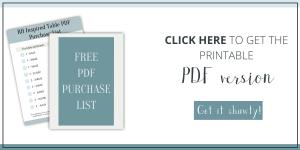 RH dining table free plans PDF