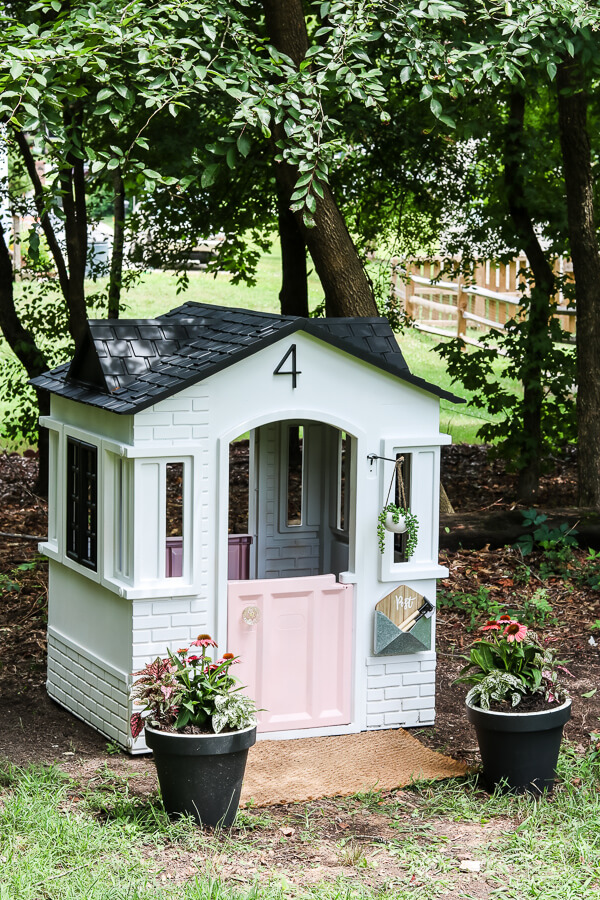 Little Tikes Playhouse Makeover Living Letter Home
