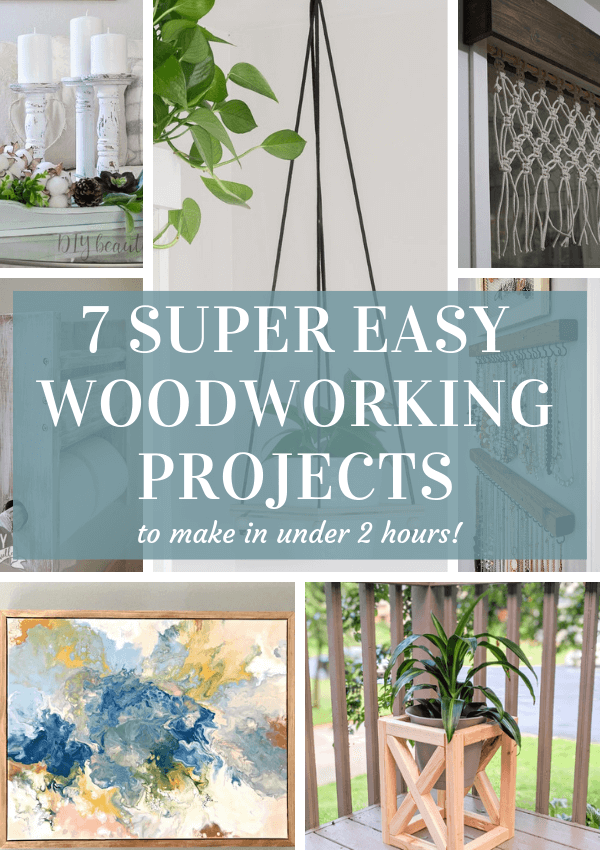 7 Quick & Easy DIY Wood Projects You Can Do This Weekend