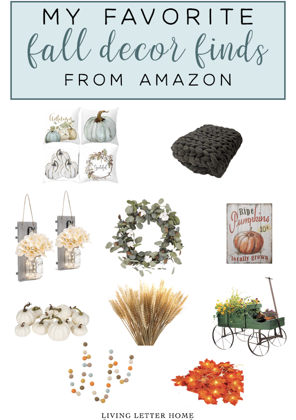 Favorite Fall Decor from Amazon