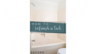 How To Refinish A Tub For $50 or LESS!
