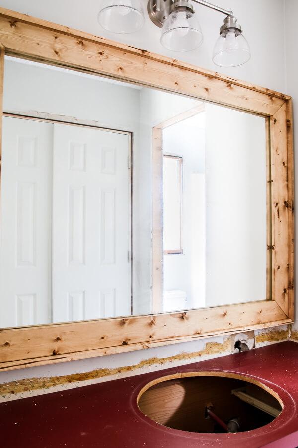 Diy Mirror Frame Your Bathroom