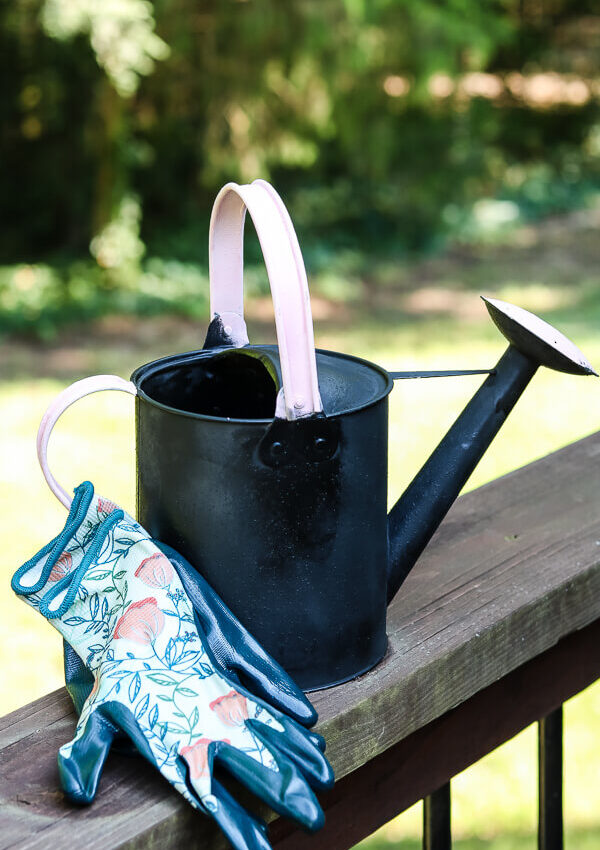 Thrifted Watering Can Makeover