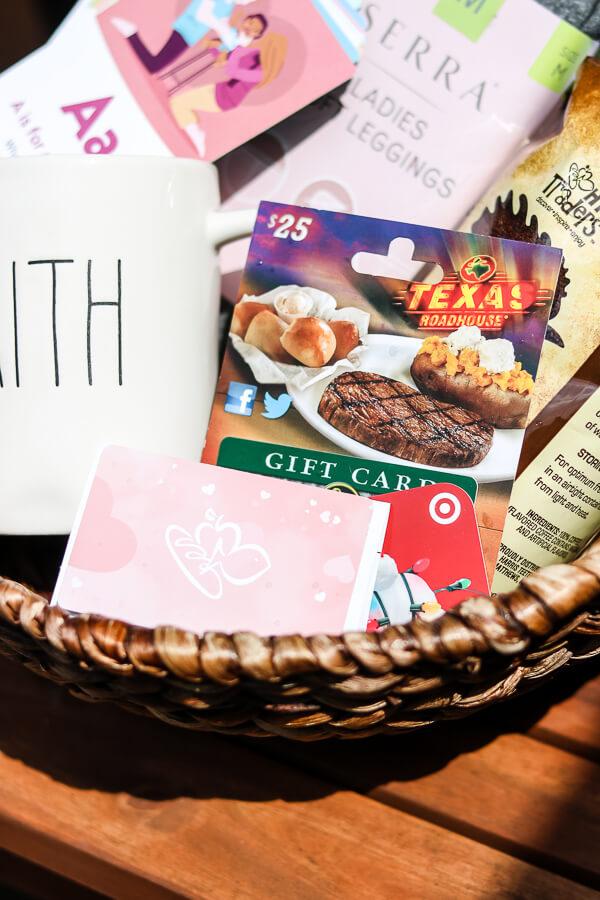 postpartum adoption gift basket ideas