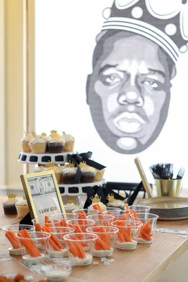 biggie smalls themed food